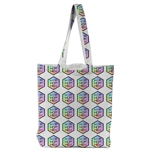 Hip Hop Hex Tote Bag