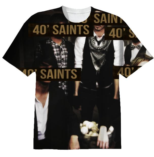 40 Foot Saints Venetia Fair Nostalgia Band Tee