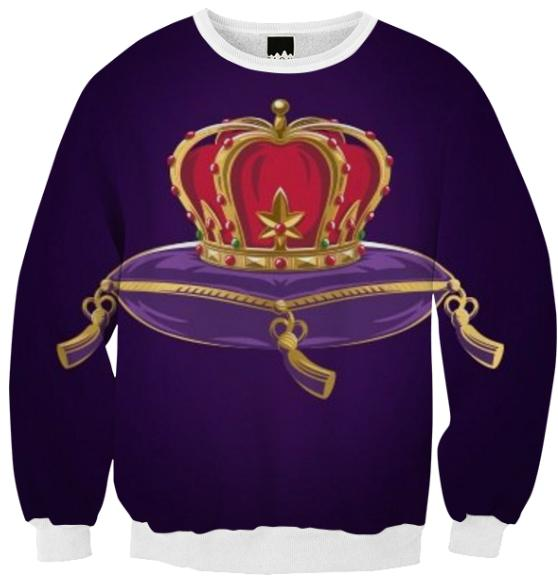 your truth crown ribbed sweater