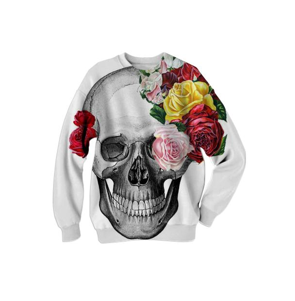 your truth skull sweater