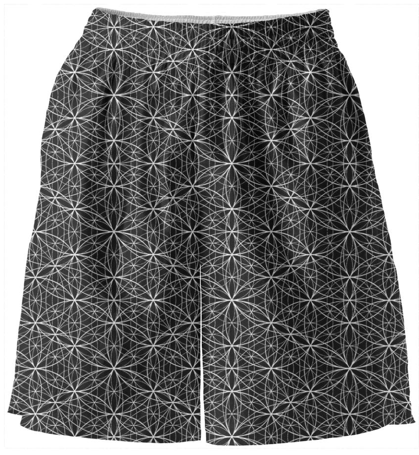 flower of life shorts