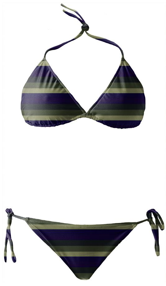 Army Stripes Bikini