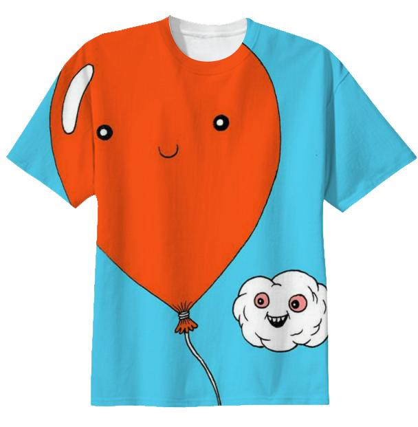 Happy Balloon and Cloud shirt