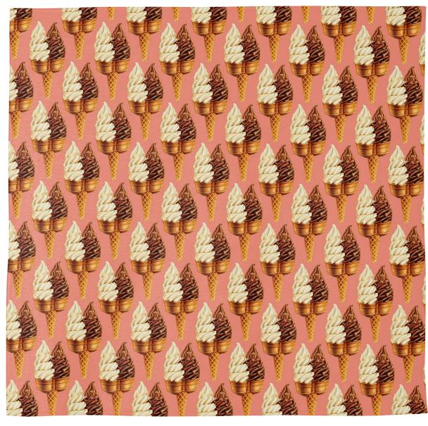 Twin Cone Pattern Pink