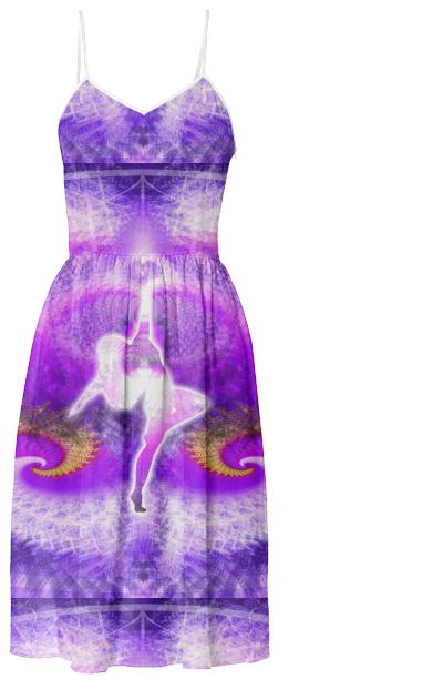 COSMIC SPIRAL 27 SUMMER DRESS