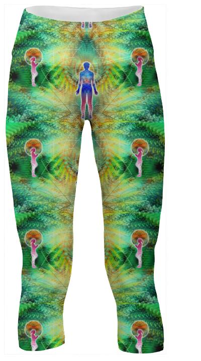 Cosmic Spiral 12 Yoga Pants