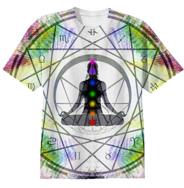 Cosmic Spiral Ascension 14 T shirt