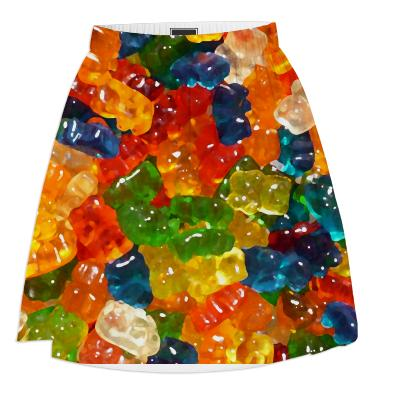 Gummy Bears Summer Skirt