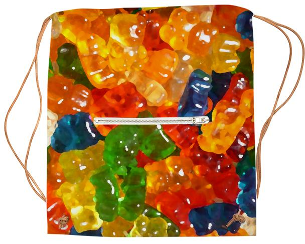 Gummy Bears Sports Bag