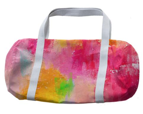 Spring Pastel Showers Duffle bag