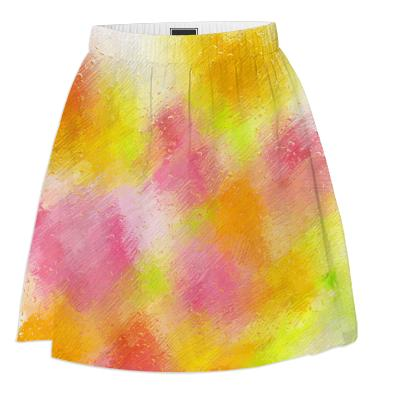 Tulips in the Rain Summer Skirt