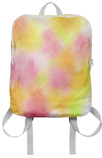 Spring Pastel Showers Backpack