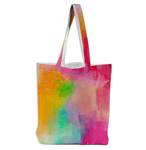 Spring Pastel Showers Tote Bag