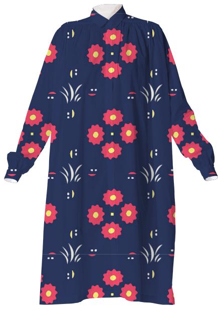 Czech wanderings shirt dress