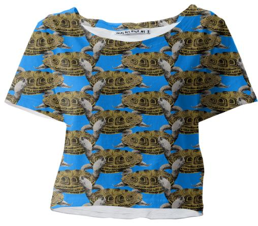 Diamondback Terrapin Cropped Shirt
