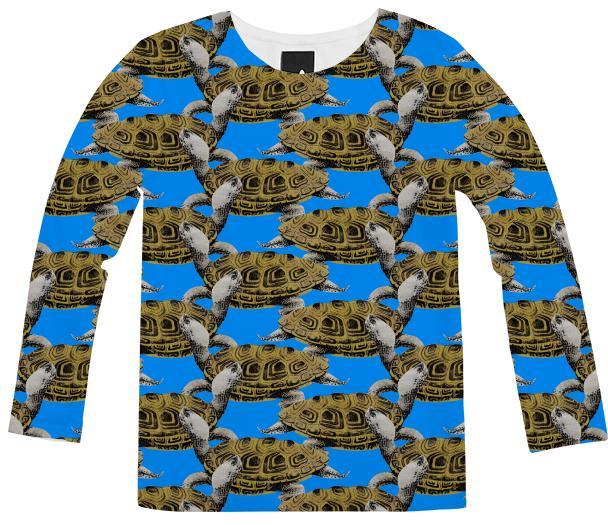 Diamondback Terrapin Long Sleeve Shirt