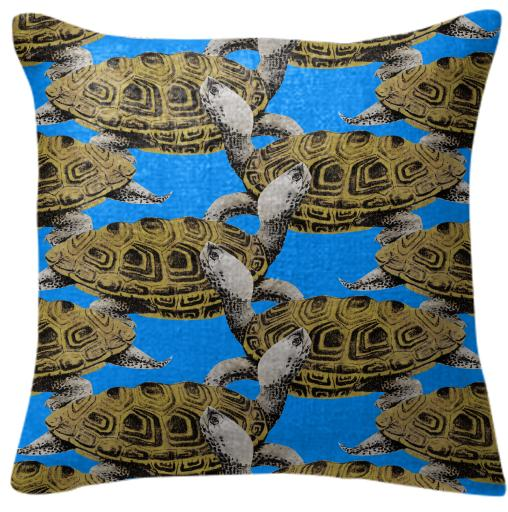 Diamondback Terrapins Pillow
