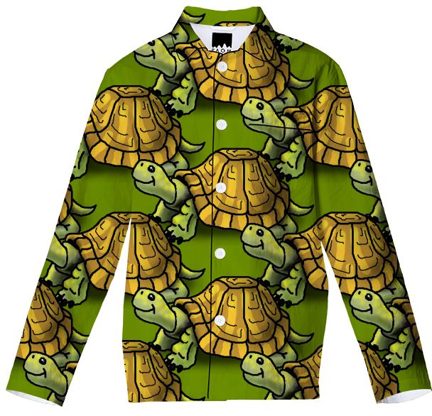 Turtles Pajama Top