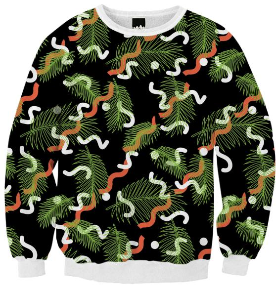 PAOM, Print All Over Me, digital print, design, fashion, style, collaboration, jshmck, Ribbed Sweatshirt, Ribbed-Sweatshirt, RibbedSweatshirt, Barbican, autumn winter, unisex, Poly, Tops
