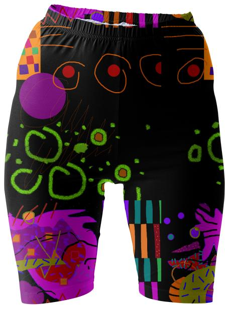 groovy bike shorts