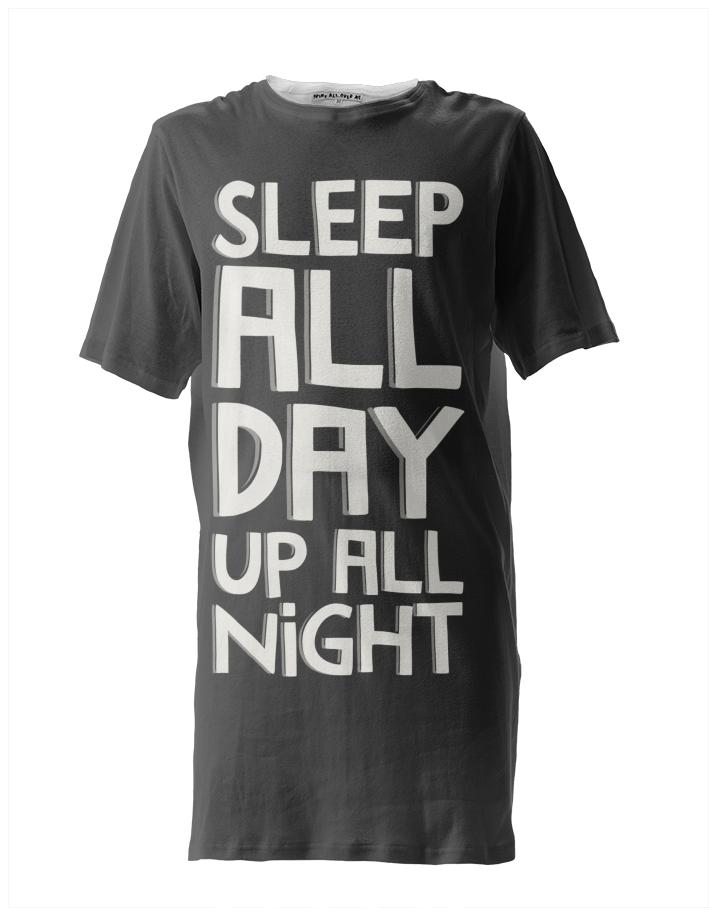 Up All Night Black Big T
