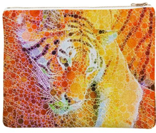 Beautiful Vibrant Abstract Tiger