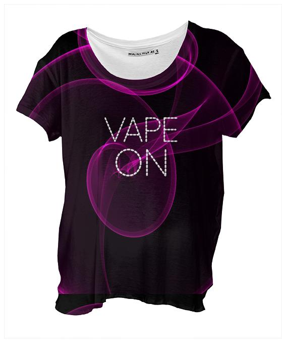 Vape On Pink Clouds Tshirt