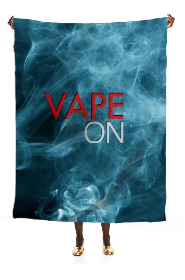 Blue Smoke Vape On Lg Scarf