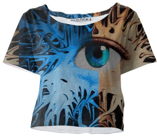 Eye Solated Crop Tee