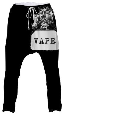 Retro Man Vape Drop Pants