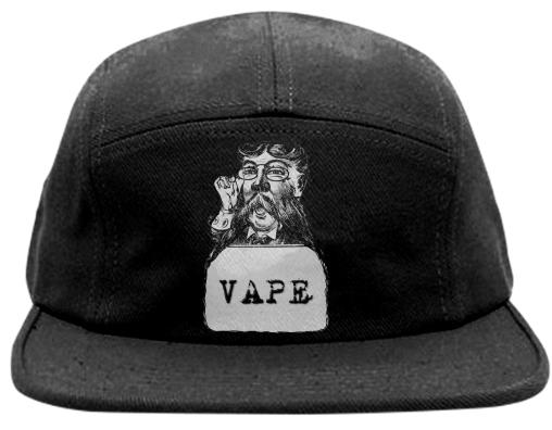 Retro Man Vape Black Baseball Hat