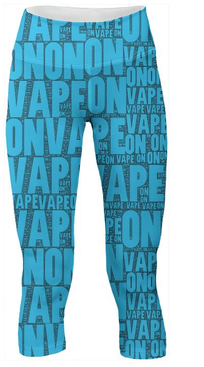 VAPE ON Yoga Pants