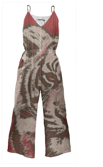Red Tiger Jumpsuit