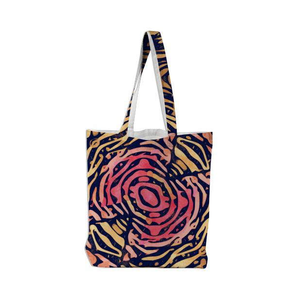 Funky Zebra Stripes Tote Bag