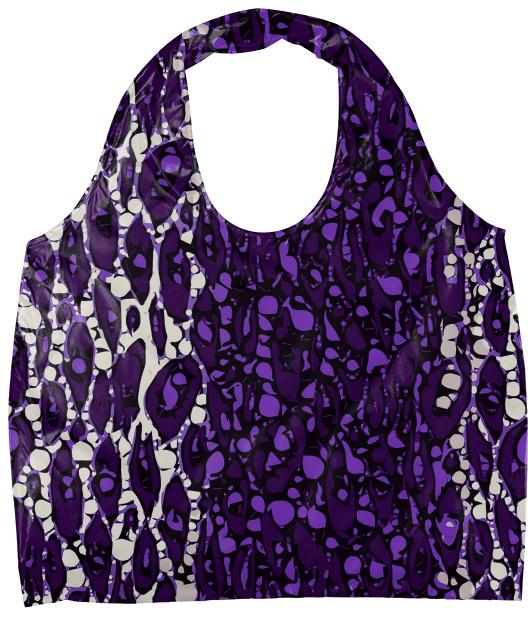 Purple Tiger Eco Tote