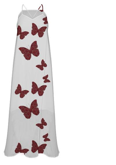 Butterfly Kisses Maxi Dress