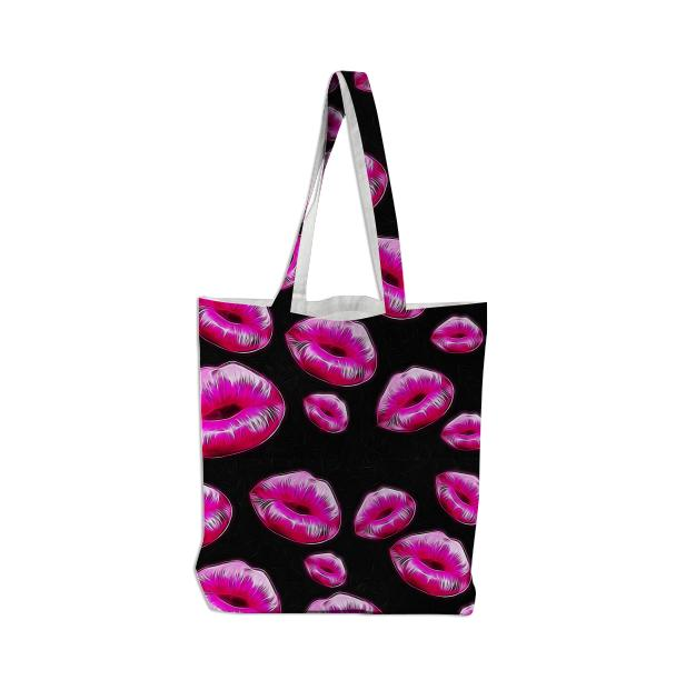 Cotton Candy Kisses Tote Bag