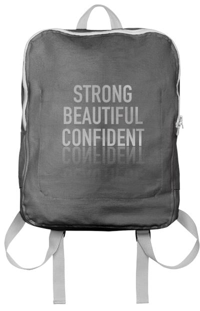 Strong Beautiful Confident Bookbag