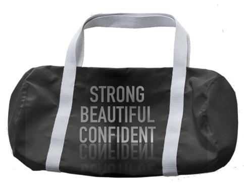 Strong Beautiful Confident Duffle Bag