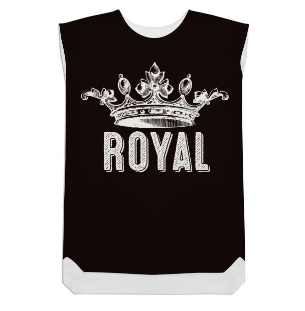 Royal Crown Shift Dress