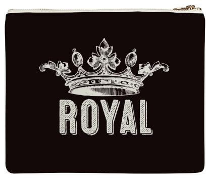Royal Crown Neoprene Clutch
