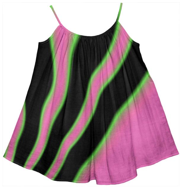 Pink Lime Black Girl s Tent Dress