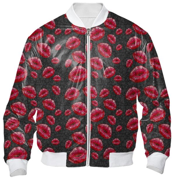 Covered In Kisses Bomber Jacket