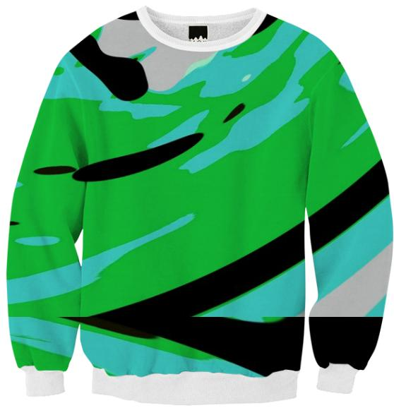 Fresh mint sweatshirt