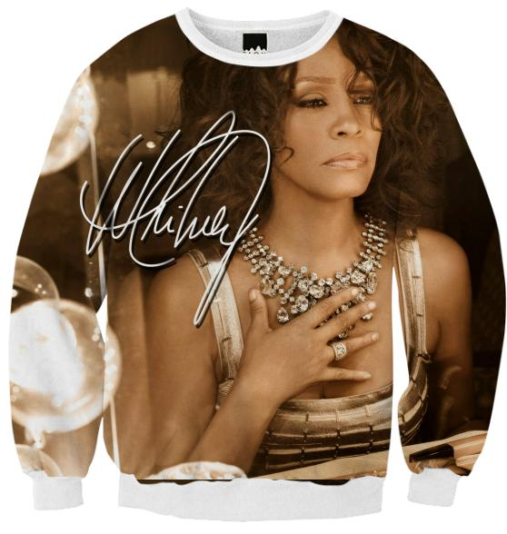 Whitney Houston 2010 Signature Sweat Shirt