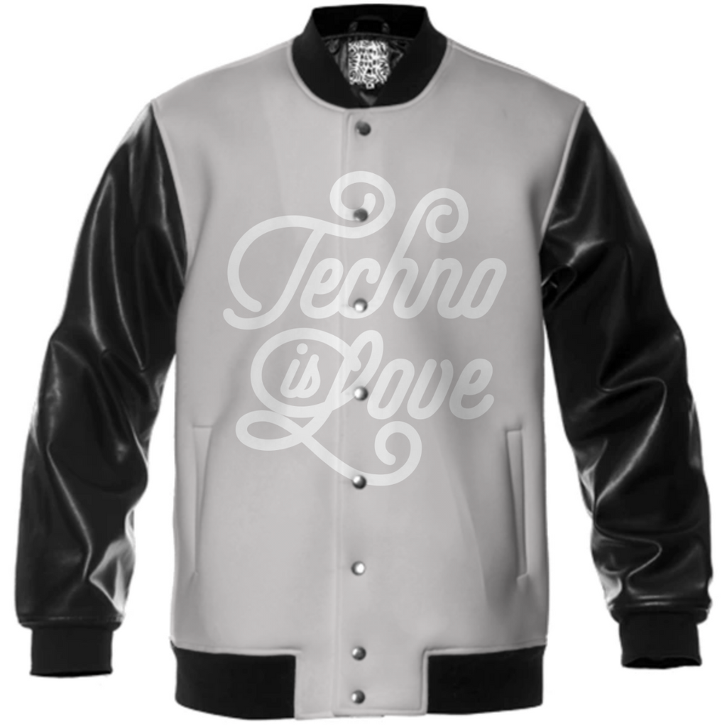 Techno is Love B&W Jacket