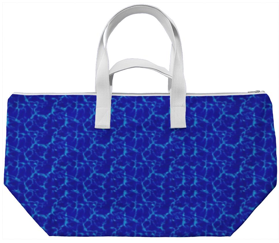Electric Blue Weekend Bag