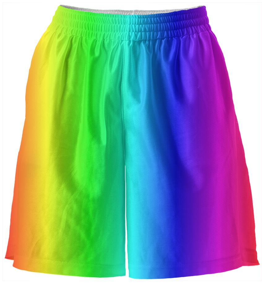Rainbow Basketball Shorts