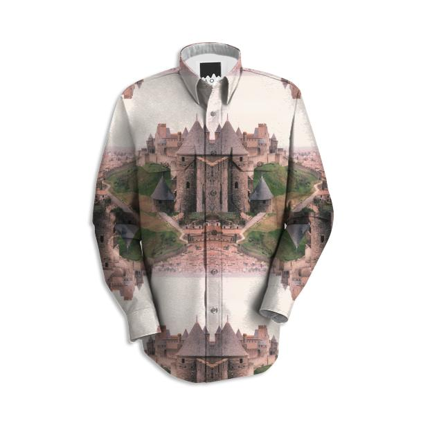 Chateau Photographic Pattern Workshirt