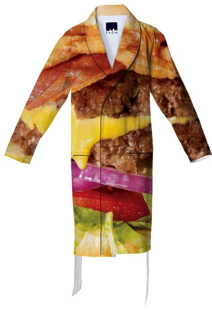 Cheeseburger Robe
